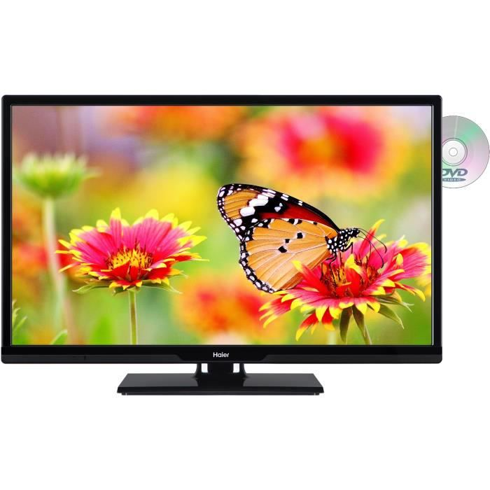 Téléviseur LED HAIER LEH24V100D TV LED HD 61 cm (24'') -  2 X HDM