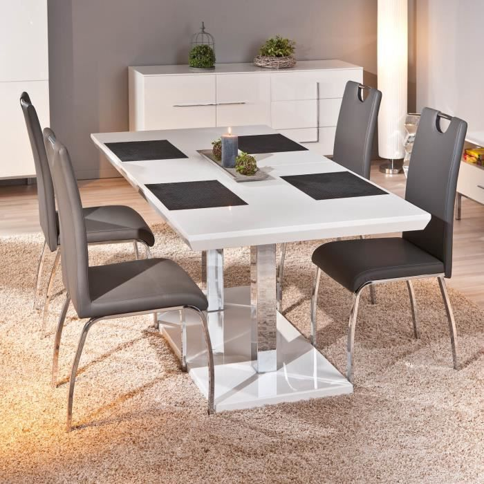 Table rectangulaire meuble cuisine salon salle achat vente table a ma - Table salon transformable table salle manger ...