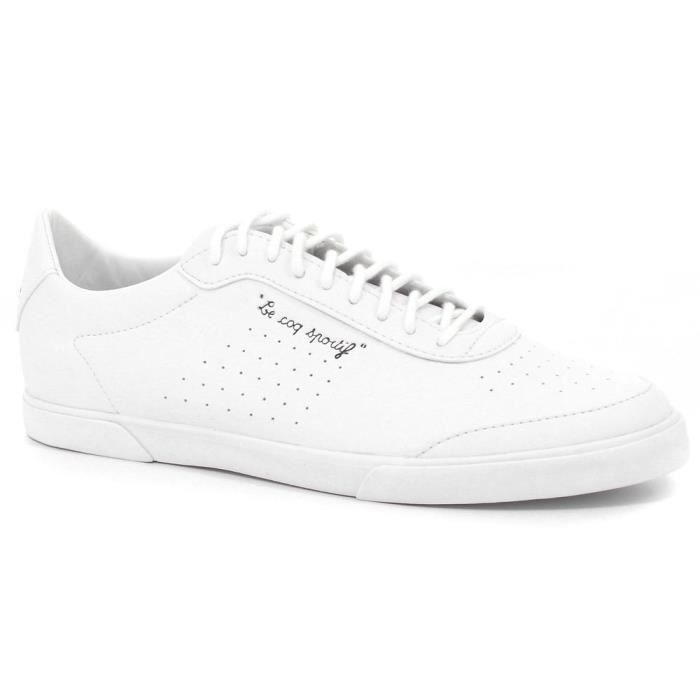 Lisa Coq S Chaussures Sportif Blanc Le Baskets Femme Leather vgY6bf7y