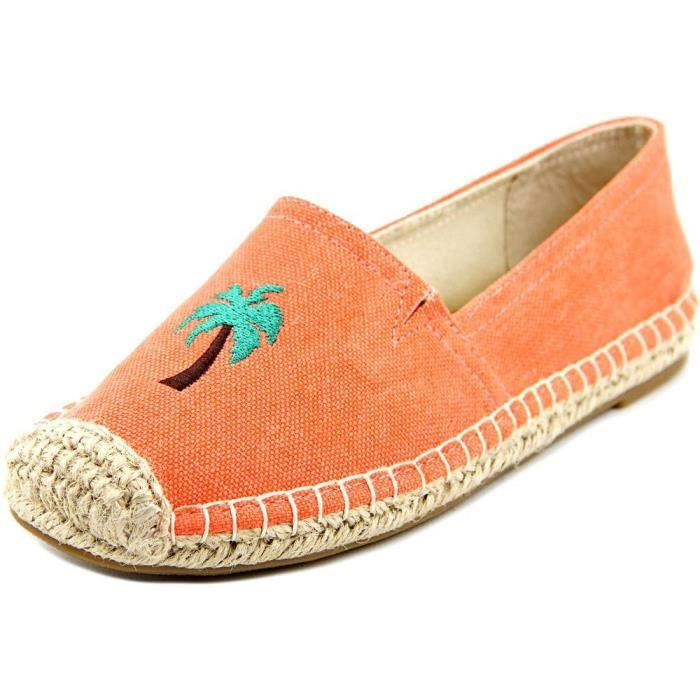 143 Fille Île Moc Toe Toile Espadrille nous HJWLL Taille-38
