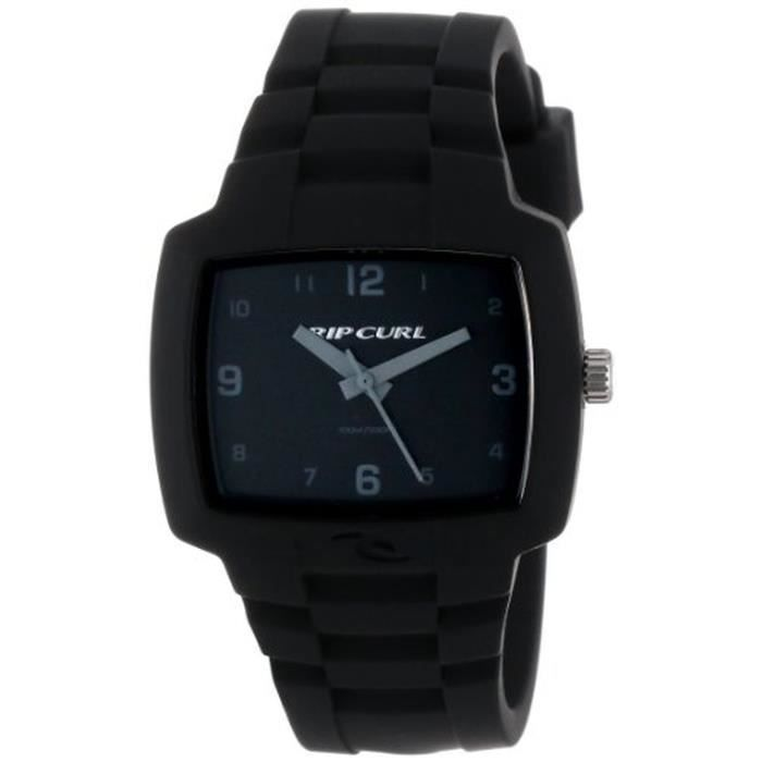 rip curl a2630 blk montre homme analogique br achat vente montre cdiscount. Black Bedroom Furniture Sets. Home Design Ideas