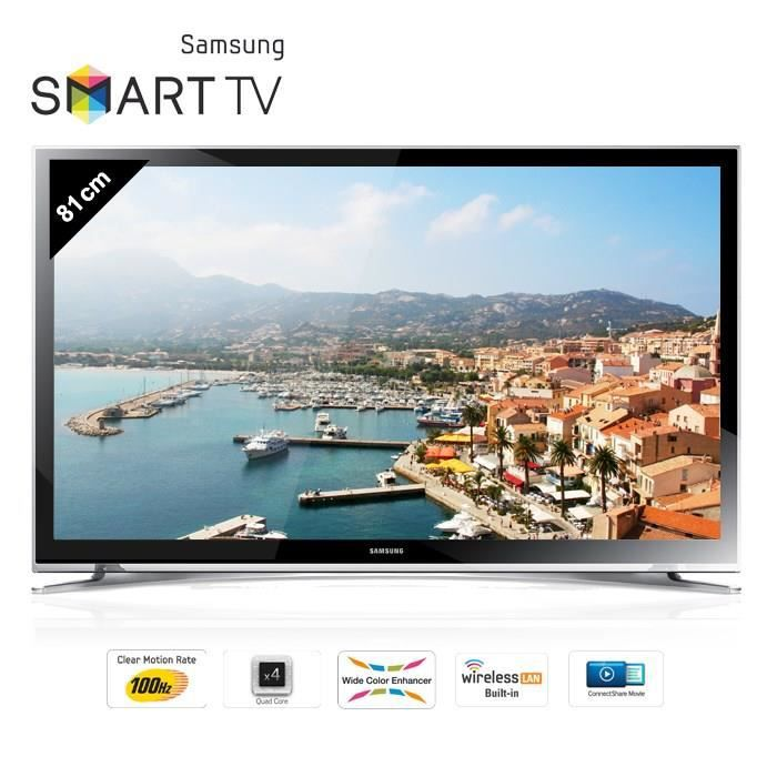samsung ue32h4500 smart tv led hd 81 cm t l viseur led prix pas cher cdiscount. Black Bedroom Furniture Sets. Home Design Ideas