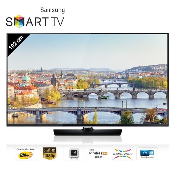 samsung ue40h5500 smart tv 102 cm t l viseur led prix. Black Bedroom Furniture Sets. Home Design Ideas