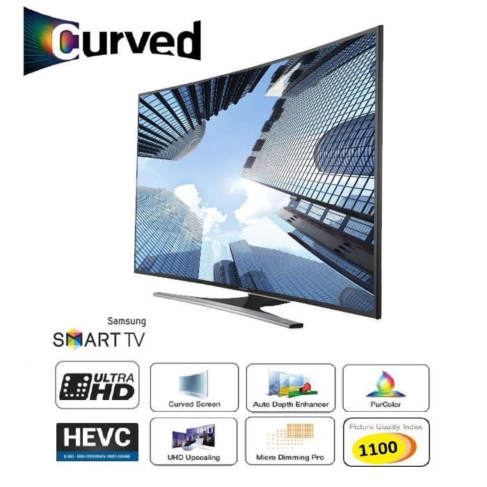 samsung ue40ju6500 smart tv uhd 4k curved 100cm. Black Bedroom Furniture Sets. Home Design Ideas