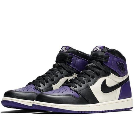 air jordan 1 homme violet