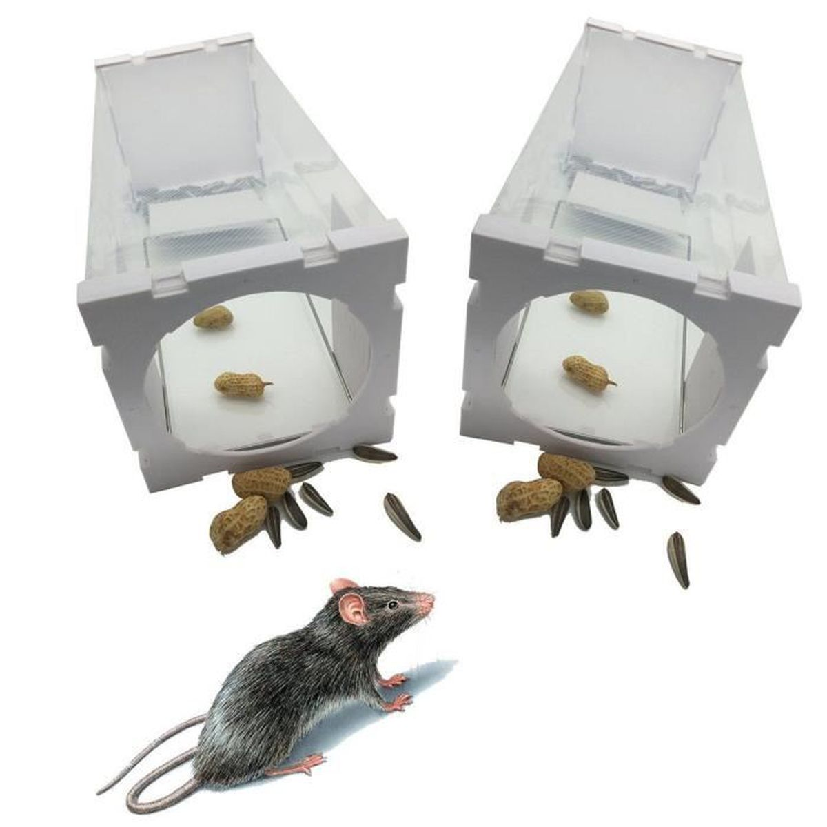 nasse rats pi ge souris rongeurs cage nuisibles rati re grillage mouse attrape achat vente. Black Bedroom Furniture Sets. Home Design Ideas