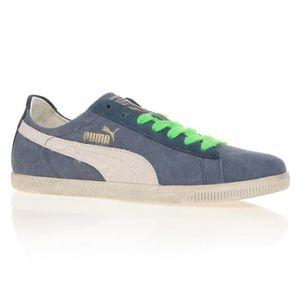 BASKET PUMA Baskets Glyde Canvas Washed Low - Mixte - Ble