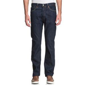 JEANS LEVI'S Jeans Homme  - 501 Straight - Bleu