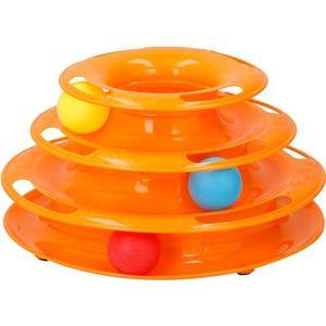 JOUET Jouet tour spirale - 3 balles inclues - 35 x 13,5