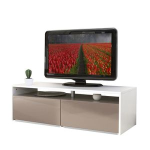 Meuble tv taupe achat vente meuble tv taupe pas cher soldes cdiscount - Meuble tv colore ...