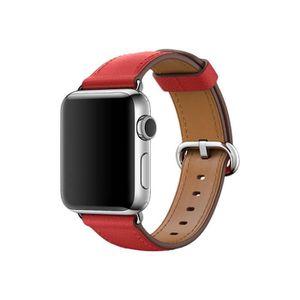 MONTRE CONNECTÉE Apple 38mm Classic Buckle Bracelet de montre rouge