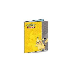 CARTES DE JEU Portfolio A4 Pokemon : Pikachu - Cahier Range-cart