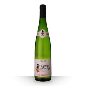 VIN BLANC Théo Cattin Cuvée de l'Ours Muscat 2017 AOC Alsace