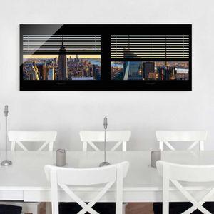 CADRE PHOTO 40x100 cm verre image - aveugle vue de la fenêtre