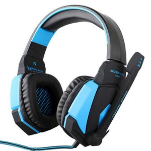 CASQUE AVEC MICROPHONE G4000 USB Stereo Gaming Headset casque Bandeau ave