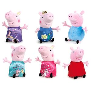 PELUCHE play by play - peppa pig peluche assortiment son m