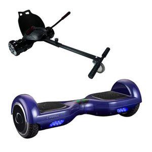ACCESSOIRES GYROPODE - HOVERBOARD SmartGyro Go-Kart Pack X1s Hoverboard Bleu + Go-Ka
