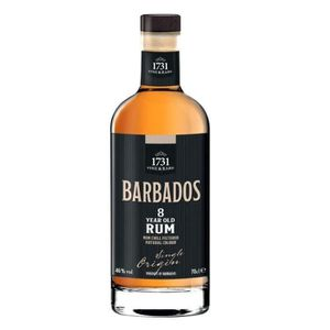 RHUM RUM BARBADOS 8 ANS OLD 70 CL