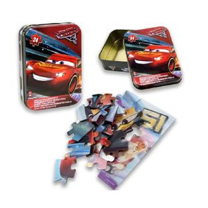 PUZZLE PUZZLE EFFET 3D DISNEY CARS 24 PIECES 13 X 18 CM