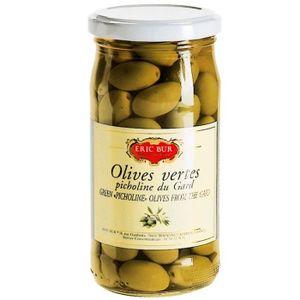OLIVE Olives Vertes Picholine 200G ERIC BUR