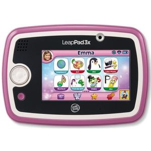 JEU CONSOLE ÉDUCATIVE LEAPFROG Tablette Enfant Tactile LeapPad 3x Rose
