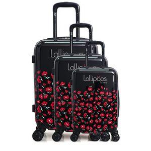SET DE VALISES Lot de 3 valises rigides Campus 55, 65 et 75 cm No