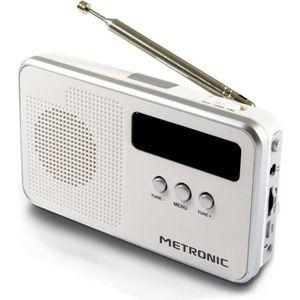 RADIO CD CASSETTE MET 477250 Radio Numérique DAB+
