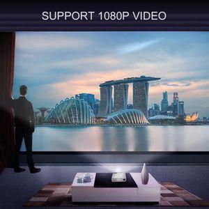 Vidéoprojecteur LESHP BL20 Projecteur vidéo 3D 2600 LM Prise en ch
