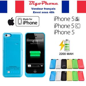 Coque rechargeable iphone 5c