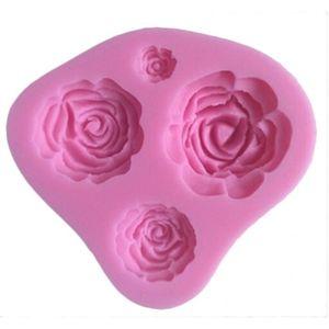 MOULE  Rose Moule Emporte Pièce Rose Fleur Silicone pour