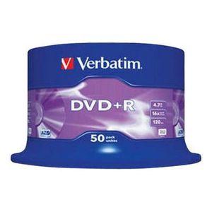 CD - DVD VIERGE VERBATIM DVD+R Advancedazo - 4.7 Go 16x - 50 Spind
