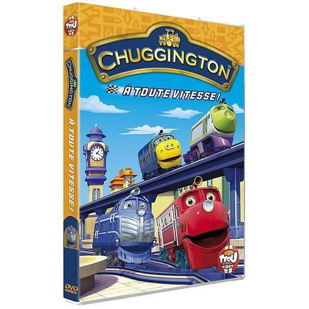 Chuggington vol 5 en dvd dessin anim pas cher cdiscount - Chuggington dessin anime ...