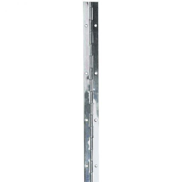 CHARNIÈRE - PAUMELLE Charnière piano à nœud roulé en inox - 32 mm - Mon