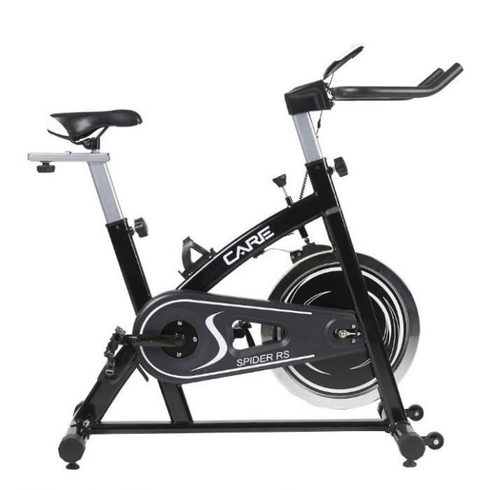 CARE Vélo Spinning Spider RS Electronique, 15kg inertie