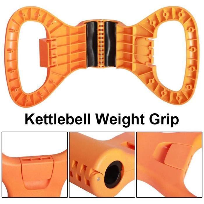 Grip réglable portable poids Réglable Portable Poids Poignée Voyage Entraînement Équipement Pinces à Haltère pour Musculation