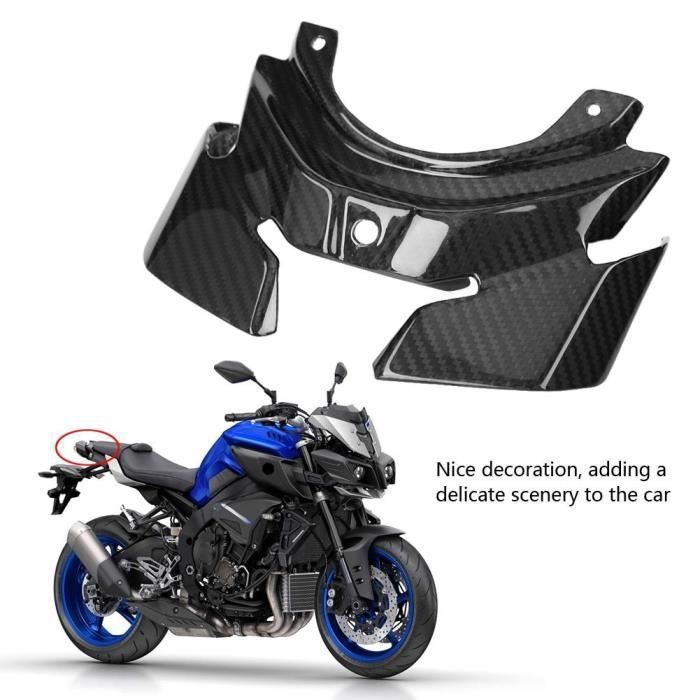 Accessoires De Moto Housse De Protection De Feu Arrière En Fibre De Carbone Pour Yamaha Mt-10 - Fz-10 2016-2018