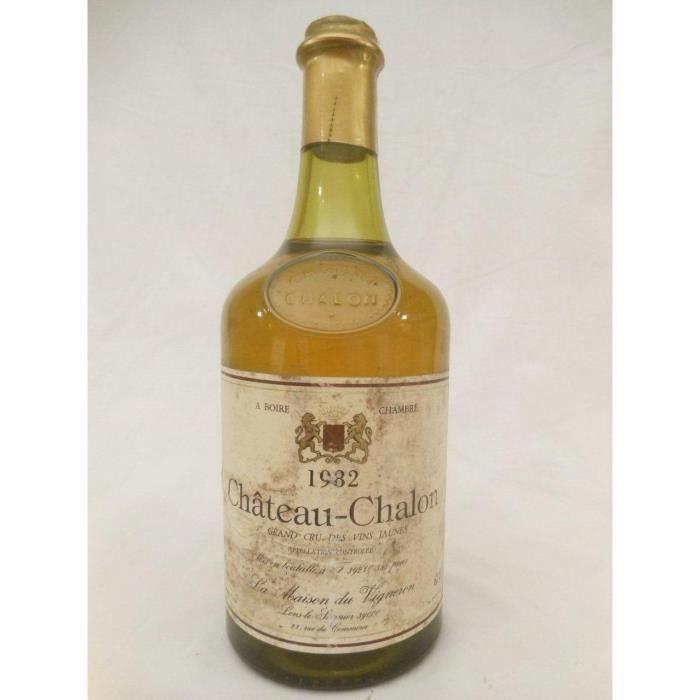 château chalon maison du vigneron vin jaune jaune 1982 - jura france