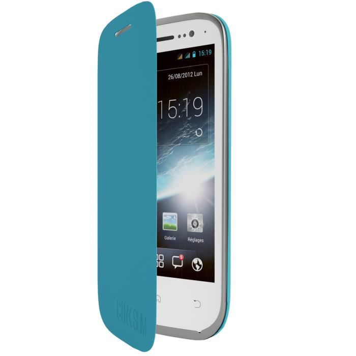 Wiko Folio back cover Slim 2 Bleu
