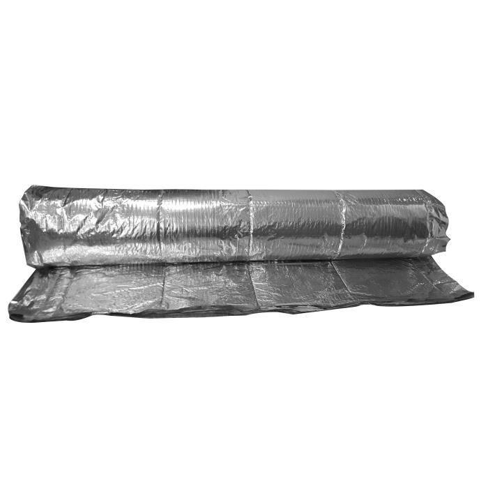 Isolant mince réflecteur - 10 m x 1,5 m - 15 couches