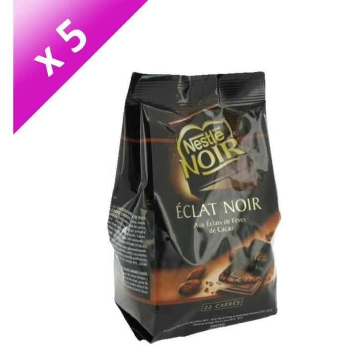 [LOT DE 5] NESTLE Grand Chocolat Noir Intense 70% carrés - 210 g