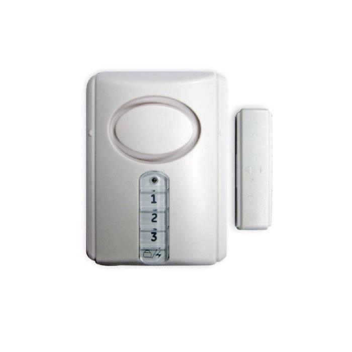 VOLTMAN Détecteur magnétique d'ouverture porte et fenêtre