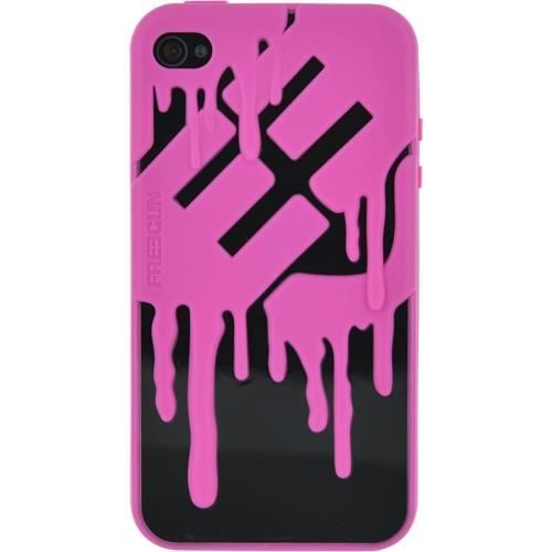 FREEGUN Coque silicone - Rose