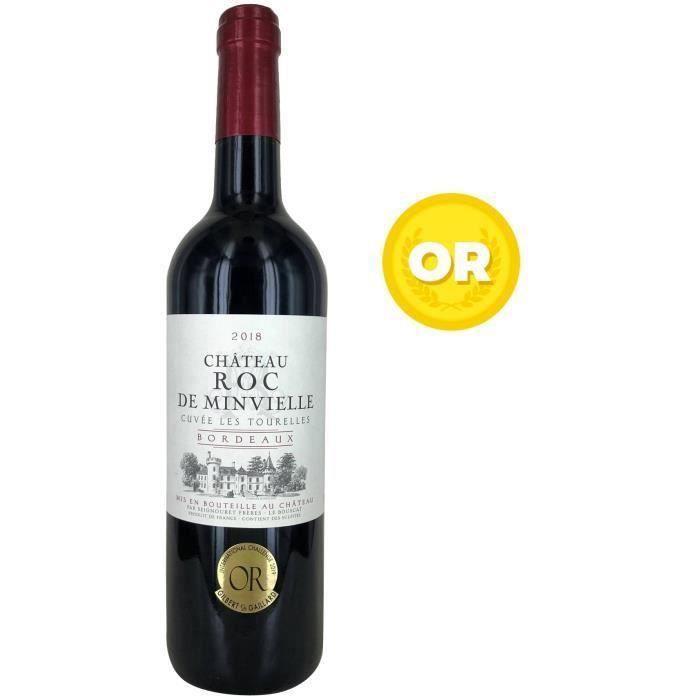 Château Roc de Minvielle Cuvée Les Tourelles 2018 Bordeaux - Vin rouge de Bordeaux