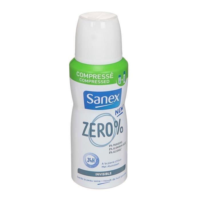 SANEX Deodorant Zéro Invisible 100 ml