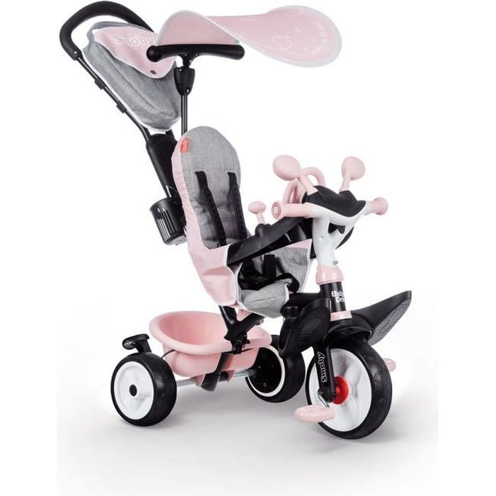Tricycle Baby Driver Plus Rose - SMOBY
