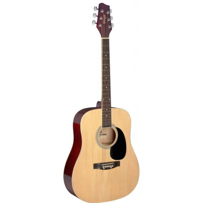 STAGG SA20D NAT Guitare Folk - Naturel