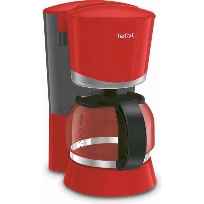 TEFAL Cafetière électrique Vita - CM171510 - Rouge