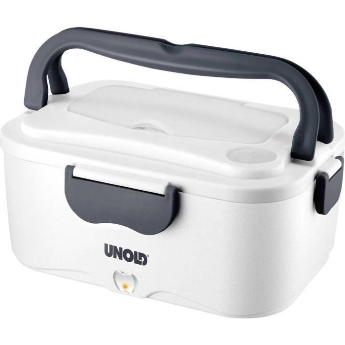 Boîte à déjeuner électrique Unold 58850 blanc, gris 1 pc(s)