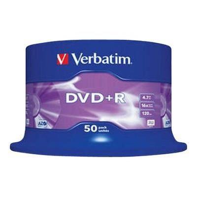 VERBATIM DVD+R Advancedazo - 4.7 Go 16x - 50 Spindle