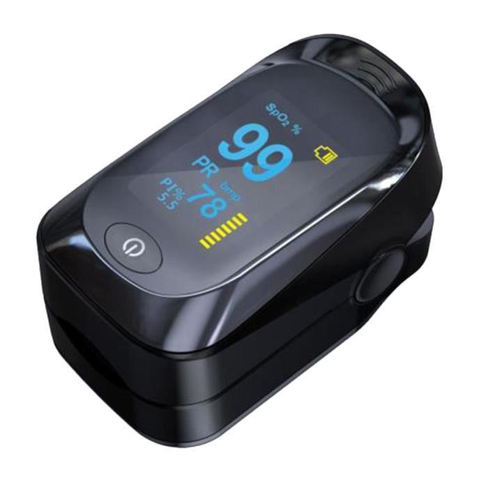 1 PC LED Affichage Oxygène Du Sang Cardiomètre Portable Doigt Oxymètre de CARDIOFREQUENCEMETRE - ACCESSOIRE - PIECE DETACHEE